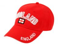BASEBALL CAP WITH ENGLAND EMB #0611