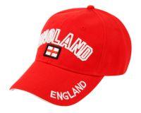 BASEBALL CAP WITH ENGLAND EMB #0611