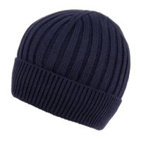 MEN'S CABLE BEANIE WITH SHERPA FLEECE LINING BN2384A