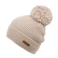 SOLID COLOR CABLE KNIT BEANIE W/POM POM BN4065