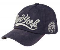 COTTON BASEBALL CAP WITH NEW YORK LOGO CAP2028
