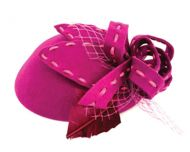 LADIES WOOL FELT FASCINATOR HATS CC2288