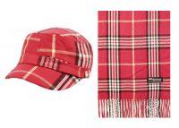 CADET HATS AND SCARF SETS CD011-2-SET (ASST)