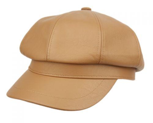 FAUX LEATHER GREEK FISHERMAN HATS CD4136