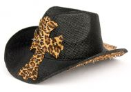 FASHION LEOPARD COWBOY HATS COW1803