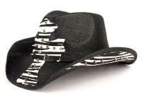 FASHION ZIBRA COWBOY HATS WITH METAL STUDS COW1804