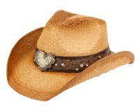 FASHION COWBOY HATS W/TRIM BAND & STUDS COW4038