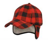 WOOL BLEND EARFLAP CAP W/SHERPA LINING CP4077