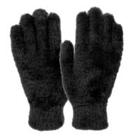 LADIES SOFT FUR WINTER WARM GLOVE GL4098