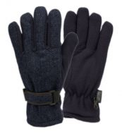 MEN'S WOOL BLEND GLOVE W/THERMAL FLEECE LINING GL4101