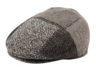 WOOL BLEND PATCH WORK IVY CAPS IV2761
