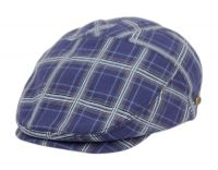COTTON SLIM FIT SIX PANEL CHECK IVY CAPS IV4021