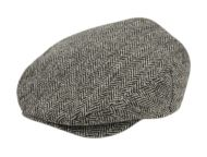 BERTELL GENUINE HARRIS TWEED WOOL IVY CAP M100