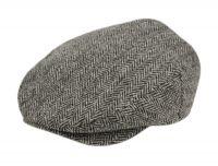 BERTELL GENUINE HARRIS TWEED WOOL IVY CAP M100
