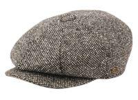 BRUSHED HERRINGBONE WOOL BLEND NEWSBOY CAP NSB2124
