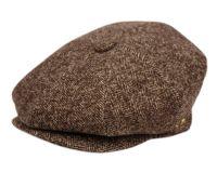 HERRINGBONE WOOL BLEND NEWSBOY CAP NSB3050