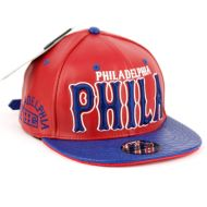 FAUX LEATHER CAPS WITH PHILA SB2086