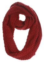 CABLE KNIT INFINITY SCARF SC1809