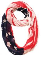 AMERICAN FLAG INFINITY SCARF SC1901