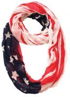 AMERICAN FLAG INFINITY SCARF SC1901