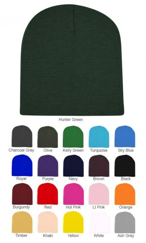 Short Ski/Beanie Hat 8 in SV1330